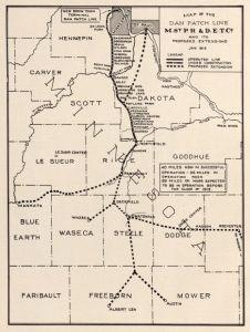 Dan Patch line map