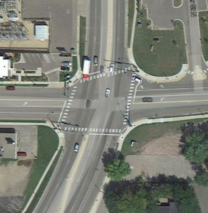Image of Intersection at Highway 3 and 2nd Street
