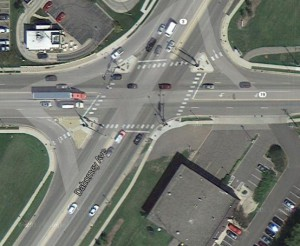 Image of Highway 3 and 5th Street intersection