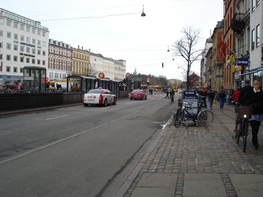 Copenhagen bike lane