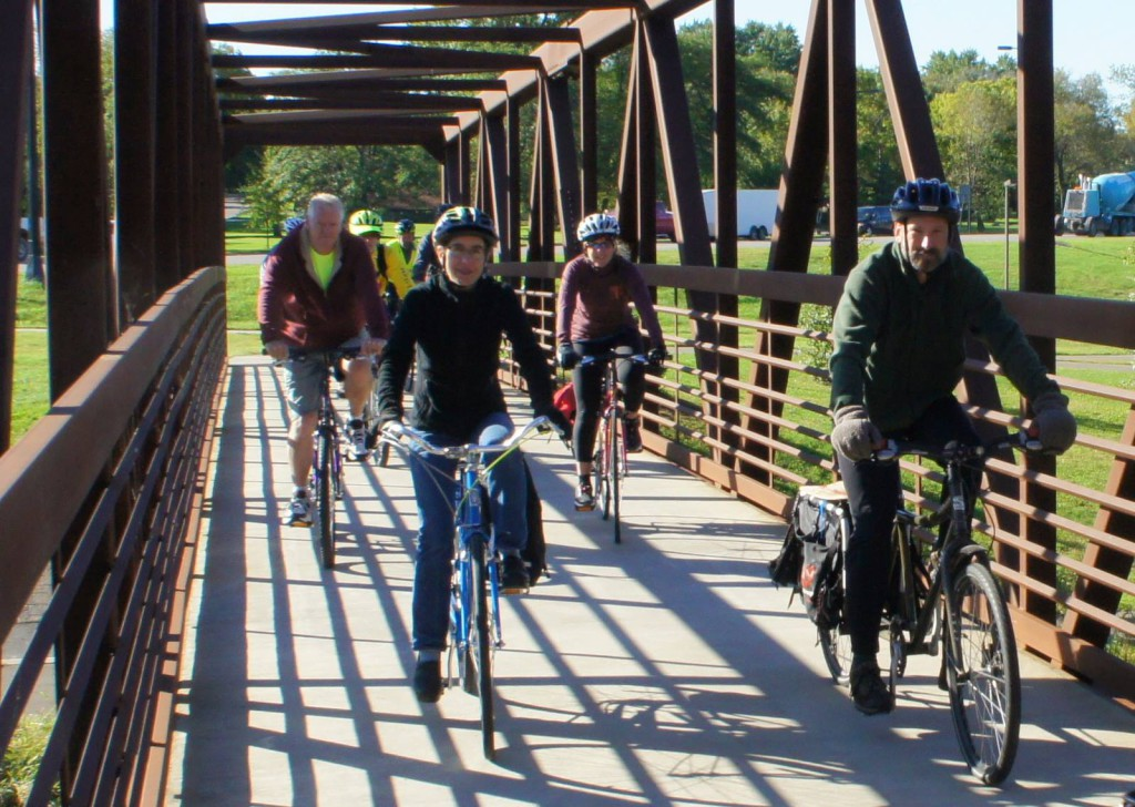 Connecting the trail for a bike-friendlier (and age-friendlier, walk-friendlier, people-friendlier) Northfield