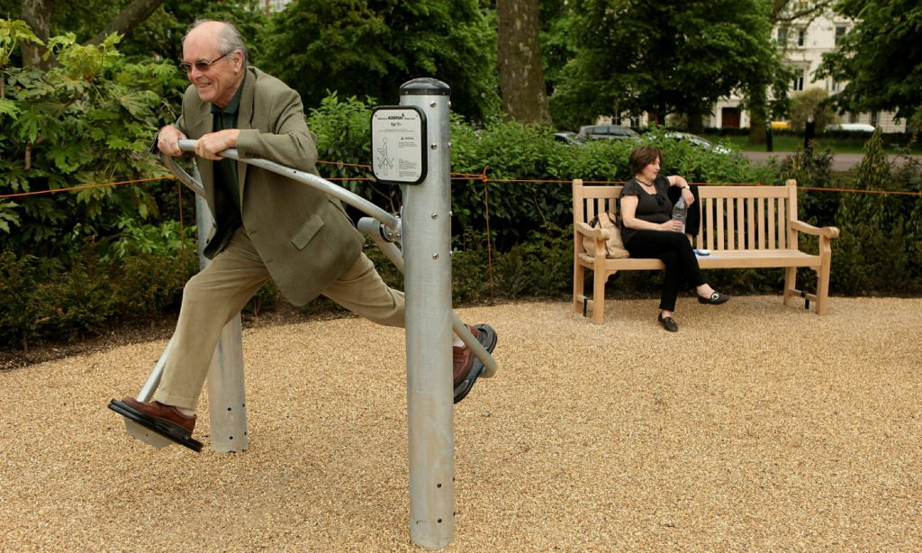 London Senior Playground (Photo: Guardian)